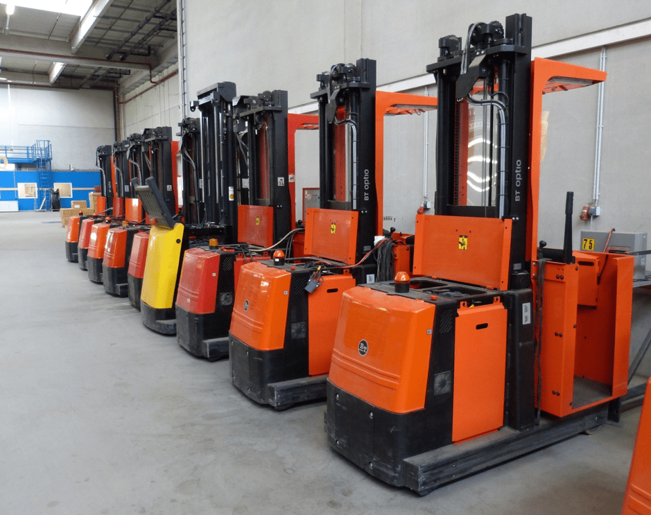 stand-up forklifts