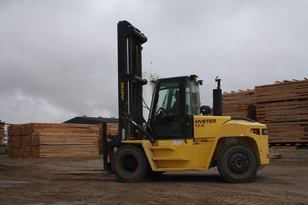 Diesel Outdoor Forklift Use