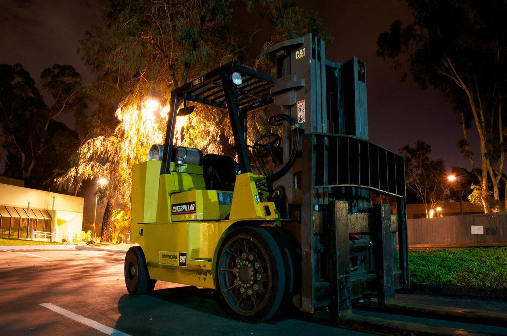 forklift rental Perth - forklift working environment